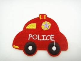 Politieauto  6 x 8 cm per stuk € 1,00