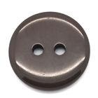 Bruine ronde knoop 18 cm