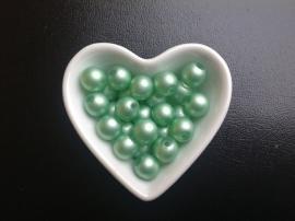 Parel Groen. 12 mm  20 voor