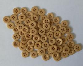 Ecru/beige. 10 mm