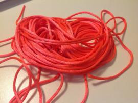 Oranje roze.    per meter