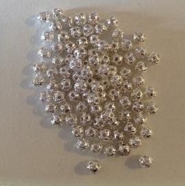 Zilveren ballen 3 mm  25 voor € 0,30