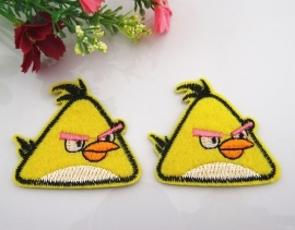 Angry bird 4.5 x 4.5 cm per stuk € 0,65