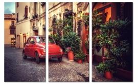 Foto Schilderij Pittoresk Italie
