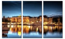 Canvas Schilderij Stockholm