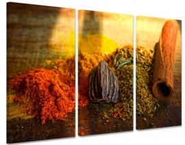 Schilderij Kruiden en Specerijen