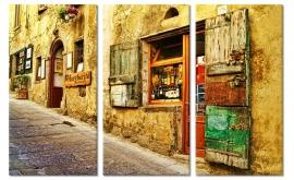Wanddecoratie Steegje Italië