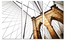 Schilderij Brooklyn Bridge II