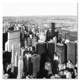 Uitzicht New York Skyline