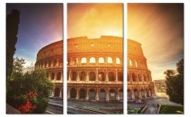 Canvas Schilderij Colosseum