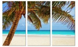 Canvas Tropisch Strand