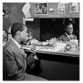 Louis Armstrong kleedkamer