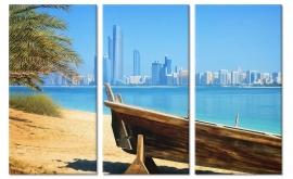 Schilderij Dubai Skyline