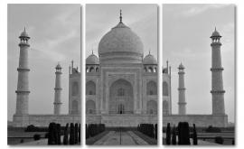 Taj Mahal zwartwit
