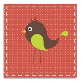 Vogel rood
