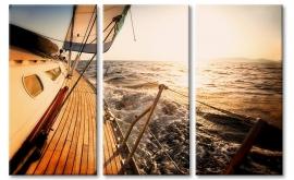 Schilderij Zeilboot