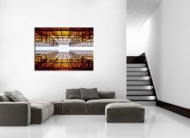 Canvas Schilderij Wolkenkrabbers