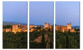 Canvas Schilderij Alhambra