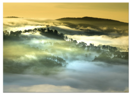 Foto schilderij landschap Vietnam