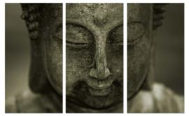 Zen buddha : foto schilderij
