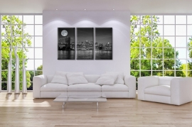 Manhattan New York canvas