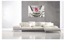 Lotusbloem boeddha (eenluik)