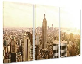 Schilderij New York Retro