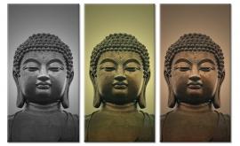 Boeddha drie-eenheid