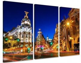 Canvas Madrid by Night