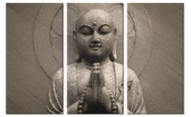 Schilderij Buddha Prayer