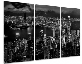 Hong Kong Haven Zwart Wit