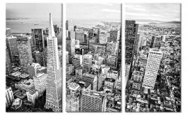 Schilderij San Francisco Skyline