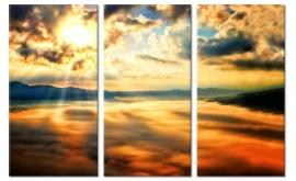 Canvas Schilderij in de Wolken