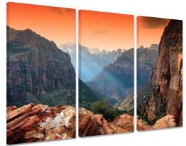 Schilderij Zion National Park Amerika