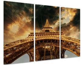 Zonsondergang Eiffel Toren