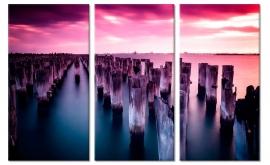Melbourne Pier Schilderij