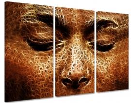 Schilderij Boeddha Goud