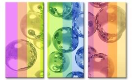 Schilderij Bubbly