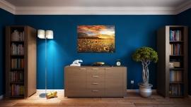 Zonnebloemen Schilderij
