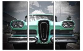Edsel op canvas