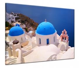 Schilderij Santorini Griekenland