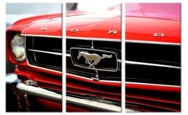 Schilderij Ford Mustang