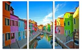 Schilderij Kleurrijk Venetië