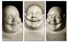 Schilderij Lachende Boeddha