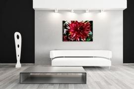 Schilderij Bloem Abstract