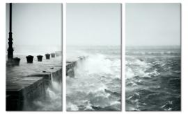 Schilderij Storm op Zee