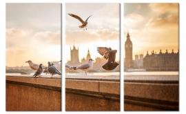 Schilderij Londen