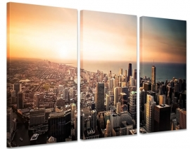 Canvas Schilderij Chicago