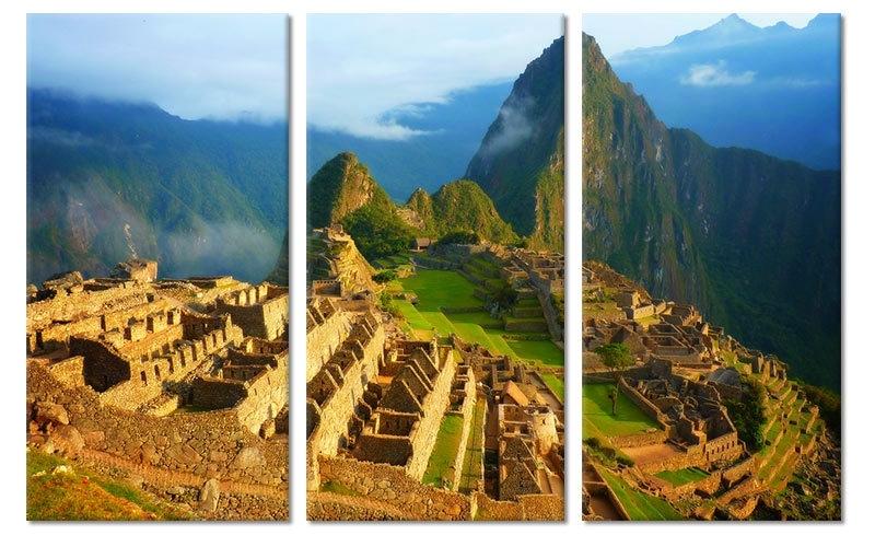 Machu Picchu Schilderij