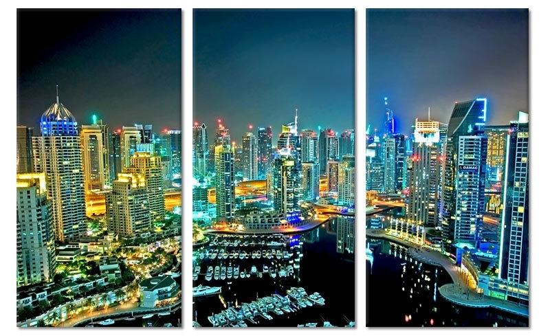 Dubai Canvas Schilderij
